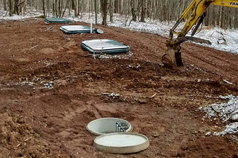 Catskill Watershed Treatment System Installation