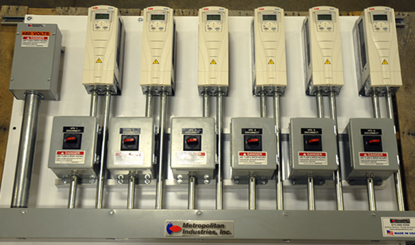 Pump Control Panel Manufacturing with Variable Frequency Drives