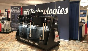 Residential Sump Pumps Display by Ion Technologies