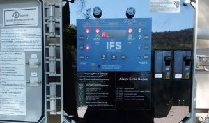 Control Panel for Mechanical Aeration System
