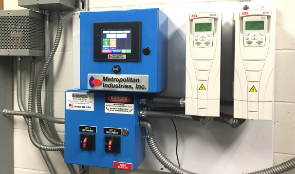 MetroTech III Pump Controller with Color Screen
