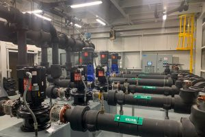 Potable Water Pump Station Upgrade at West Averell Harriman State Office Building Campus