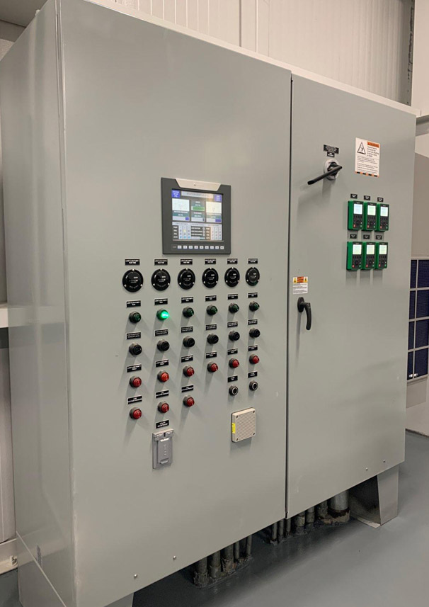 Six Pump Variable Speed Control Panel with Double Door Enclosure