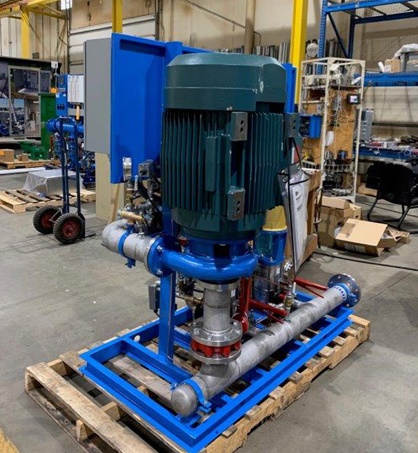 Vertical Multi-Stage Booster Pump Upgrade in Upstate New York